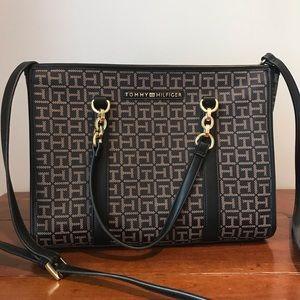 Tommy Hilfiger Signature Bag Black/Brown